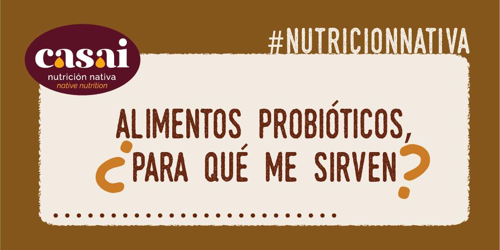 alimentos probioticos, ¿para que me sirven?