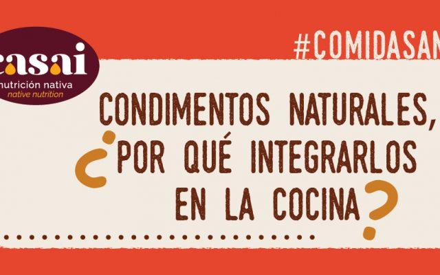 Condimentos naturales, ¿por qué integrarlos en la cocina?