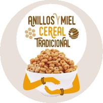 Anillos Y Miel ceReal TradicioNal